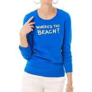 Lilly Pulitzer Beach Intarsia Sweater